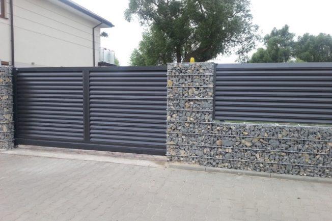 Ogrodzenia Aluminiowe Nowoczesne Ogrodzenia Warszawa Aludom