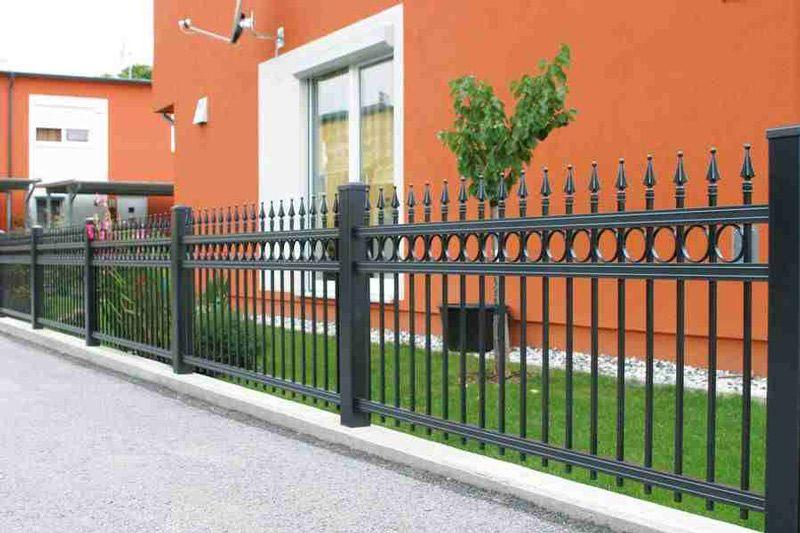 Tradycyjne ogrodzenia aluminiowe